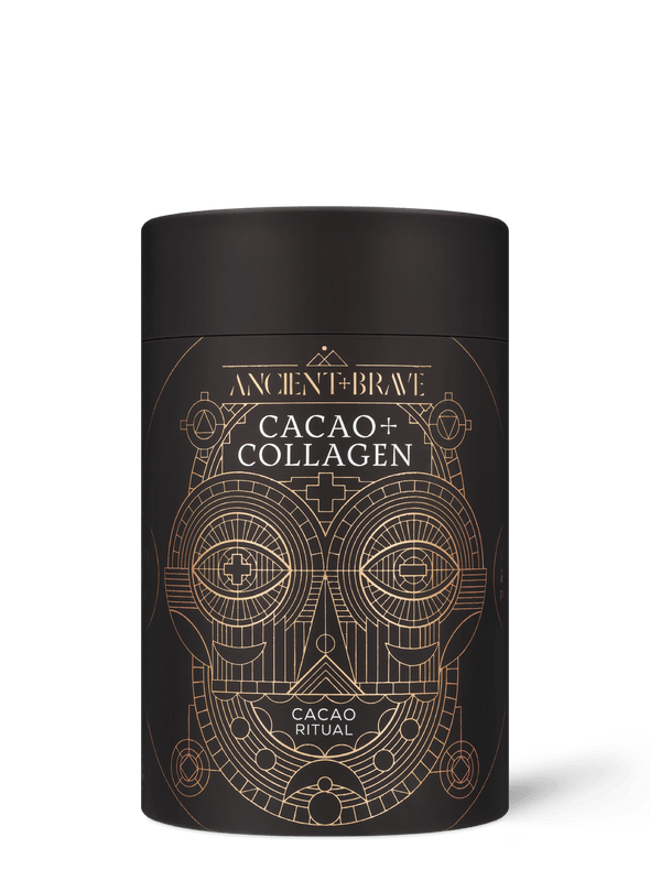 Organic Raw Cacao with Grass-fed Bovine Hydrolysed Collagen Peptides